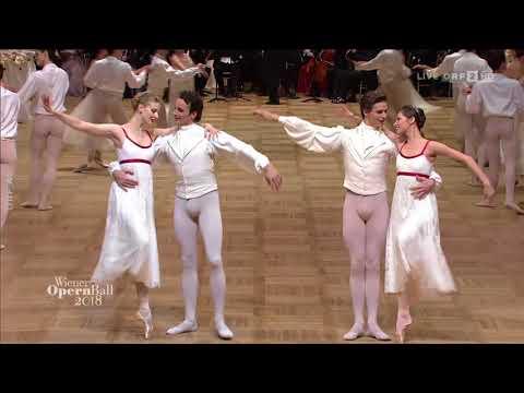 """Opernball 2018: Wiener Staatsballett tanzt zu """"Mein Lebenslauf ist Lieb und Lust"""" von Josef Strauss"""