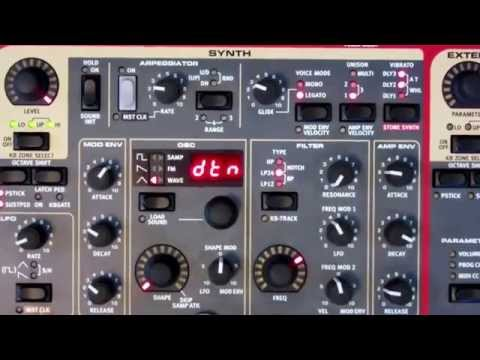 Nord Stage 2 Synth Tutorial and Demo