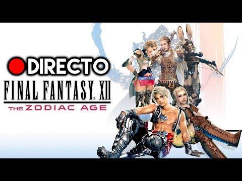 [DIRECTO] FINAL FANTASY XII: THE ZODIAC AGE. Gameplay en español de la remasterización