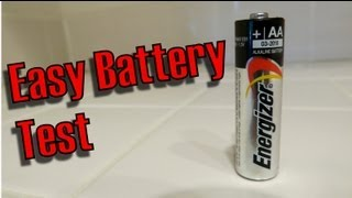 How To Test a AA battery, Easiest Way For Any Battery Fast, Easy! thumbnail