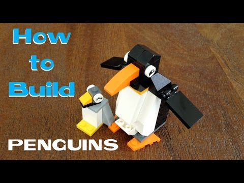 How To Build Lego Penguin Building Instructions Lego Classic