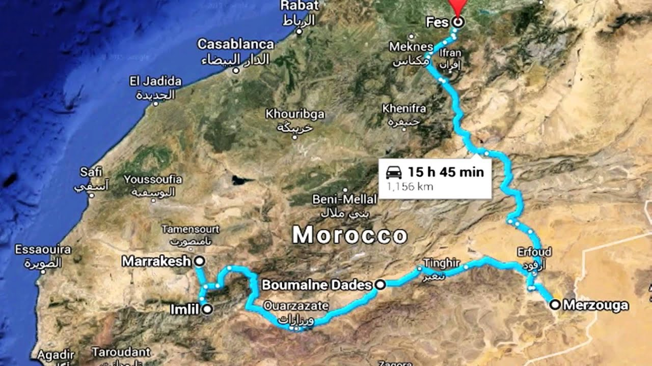 Morocco Road trip Mk 2 YouTube