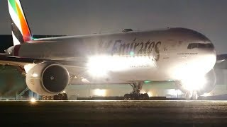 INCREDIBLE Late Night Aircraft Landings & Takeoffs   Melbourne Airport Plane Spotting