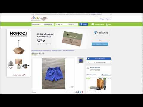 Impressum Bei Ebay Kleinanzeigen Automatisch ändern Youtube