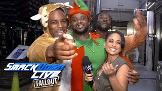 The New Day get in the holiday spirit: SmackDown LIVE Fallout, Dec. 19, 2017