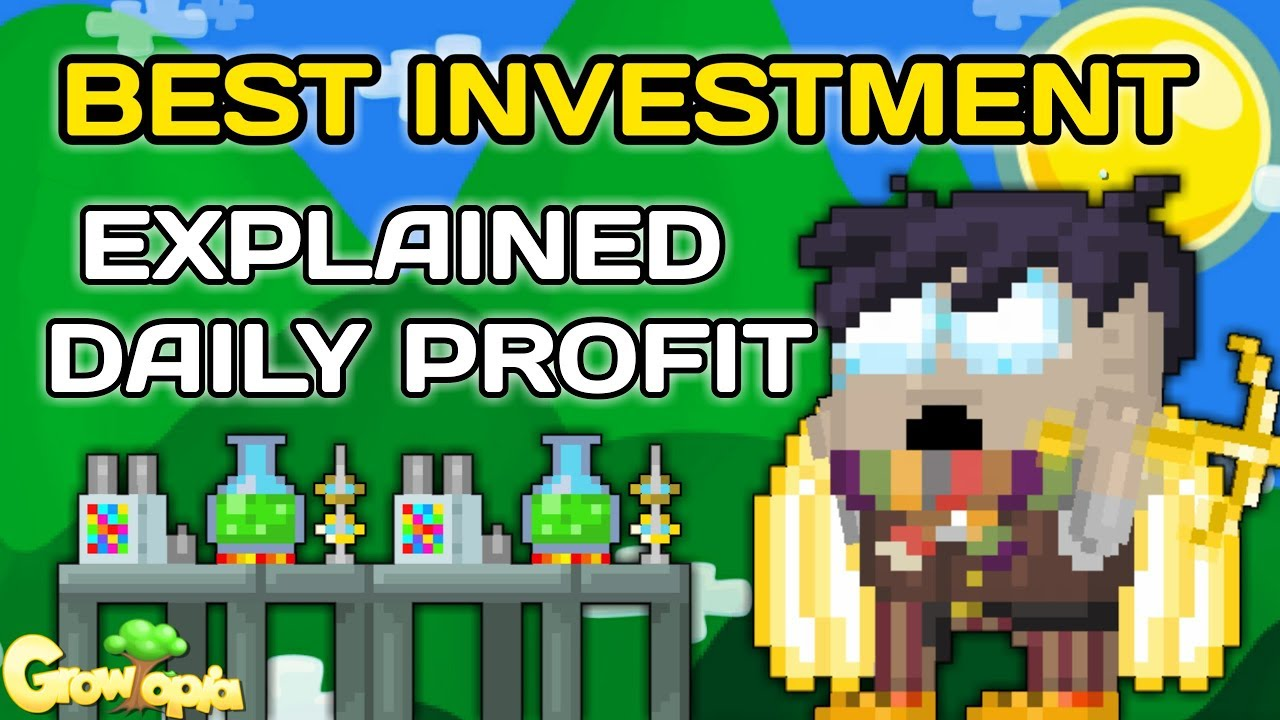 BEST INVESTMENT SCIENCE STATION [EXPLAINED DAILY PROFITS] - Growtopia