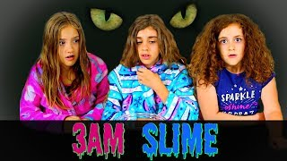 MAKING SLIME AT 3 AM!