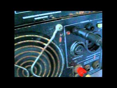 COMO CONECTAR UN AMPLIFICADOR PEAVEY CS800X