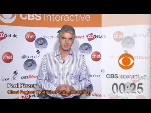 Paul Pizzey, orange - ZDNet.de - CBS Interactive - One Minute Pitches