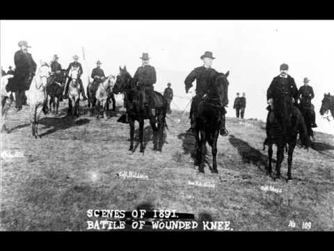 the battle at wounded knee Disaster at wounded knee such violent conflicts were common throughout many territories, and it was not long before the last official military action against native americans took place on december 29, 1890.