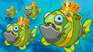 НОВАЯ РЫБА КЛОУН Баги в игре EATME IO игра Рыбки онлайн  Hungry fish fun game