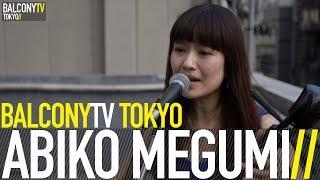 "ABIKO MEGUMI performs the song ""TENSAGU NU HANA"" for BalconyTV. Sub..."