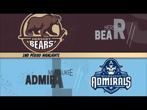 January 6 2019 Hershey Bears  Vs  Milwaukee Admirals