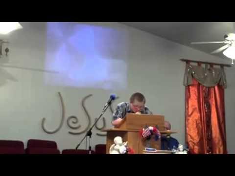 Autistic preacher
