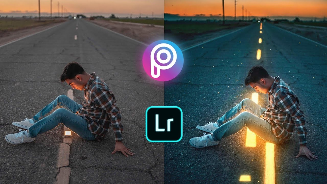 Download Glowing Road Editing Tutorial in Picsart | How to Edit Like Calop | Photo Editing Tutorial