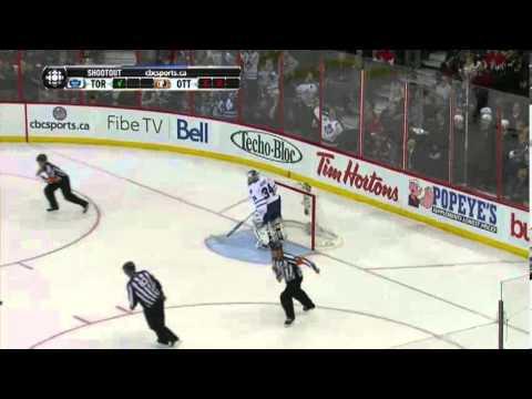 Maple Leafs @ Senators - Full Shootout (Dec 7, 2013)