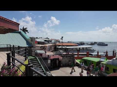 Belize ferry port