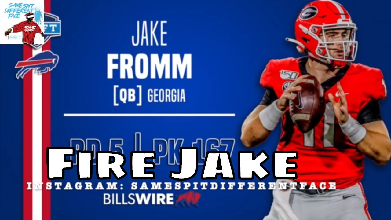 Bills' Jake Fromm Apologizes for 'Elite White Person' Text