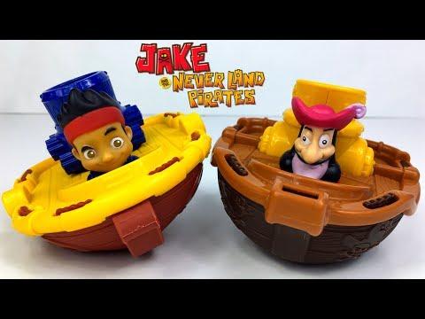 jake-und-die-nimmerland-piraten---eine-wette-auf-wasser-zwischen-jake-&-kapitÄn-hook-pirate-cruiser