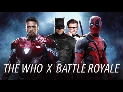Hollywood Action Pack Trailer 2 - The Who x Battle Royale