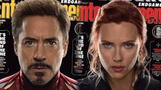 NEW Avengers Endgame Entertainment Weekly Covers Released