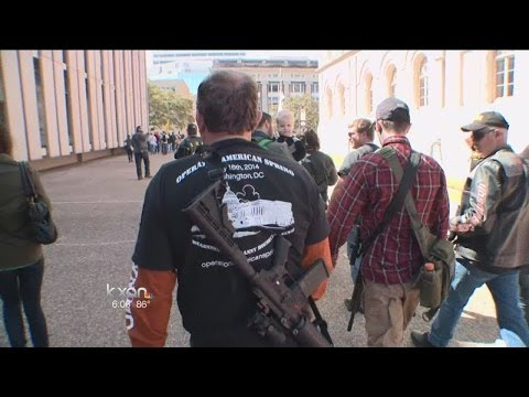 Open Carry groups in Texas to change their tactics