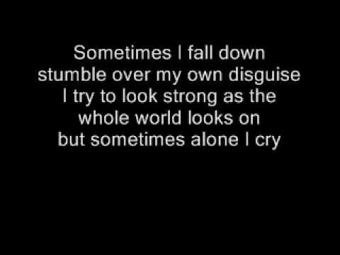 Jason Crabb - Sometimes I Cry With Lyrics