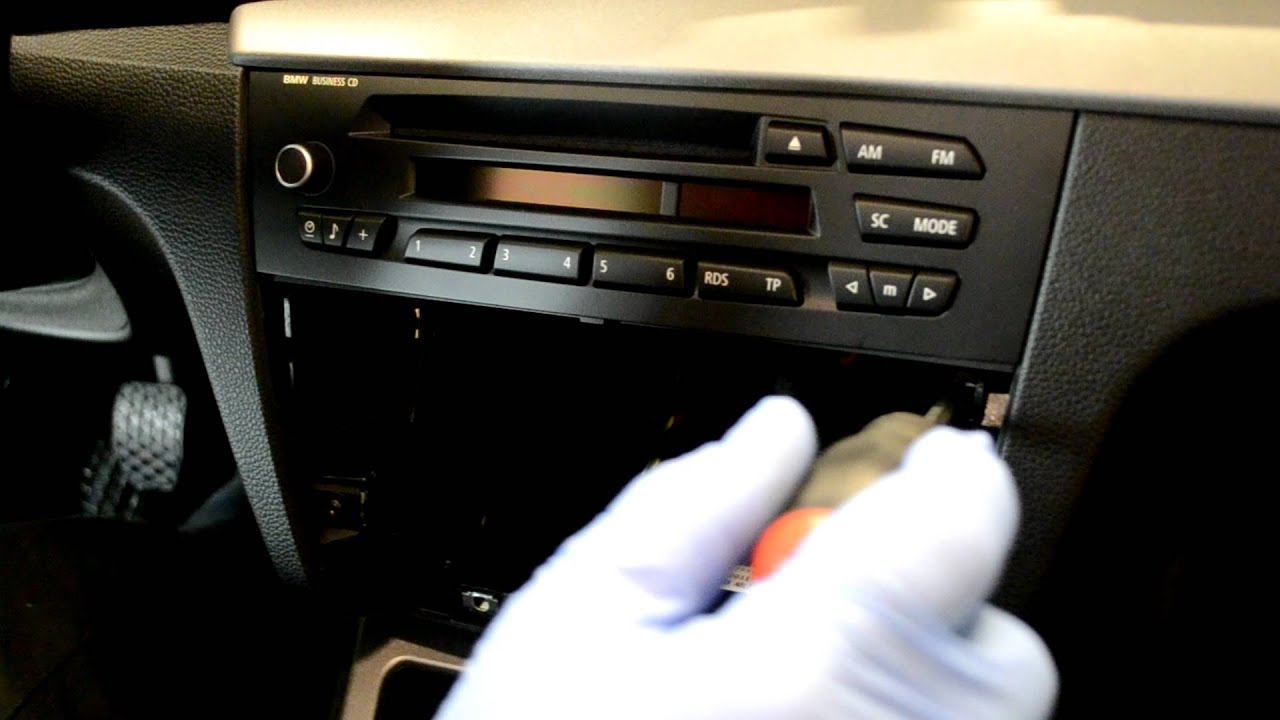 bmw radio business replacement 1 series e87 youtube rh youtube com