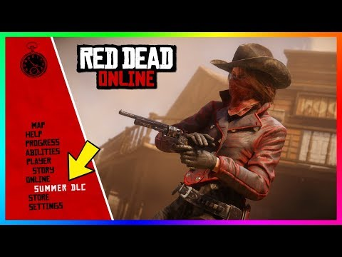 NEW Red Dead Redemption 2 Online Update - FREE Items, Summer DLC Details, NEW Content & MORE! (RDR2)