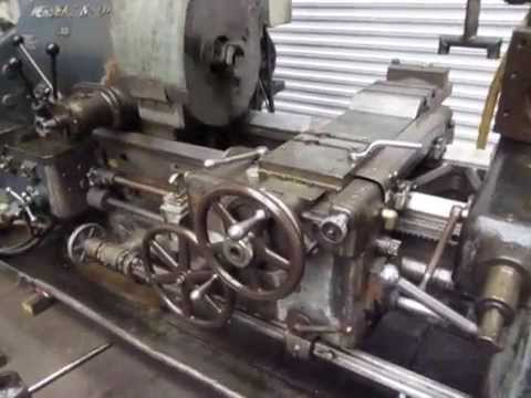 Herbert Lathe Machine