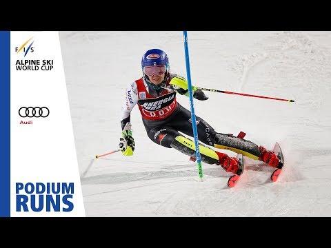 Mikaela Shiffrin | Ladies Slalom | Zagreb | 1st place | FIS Alpine