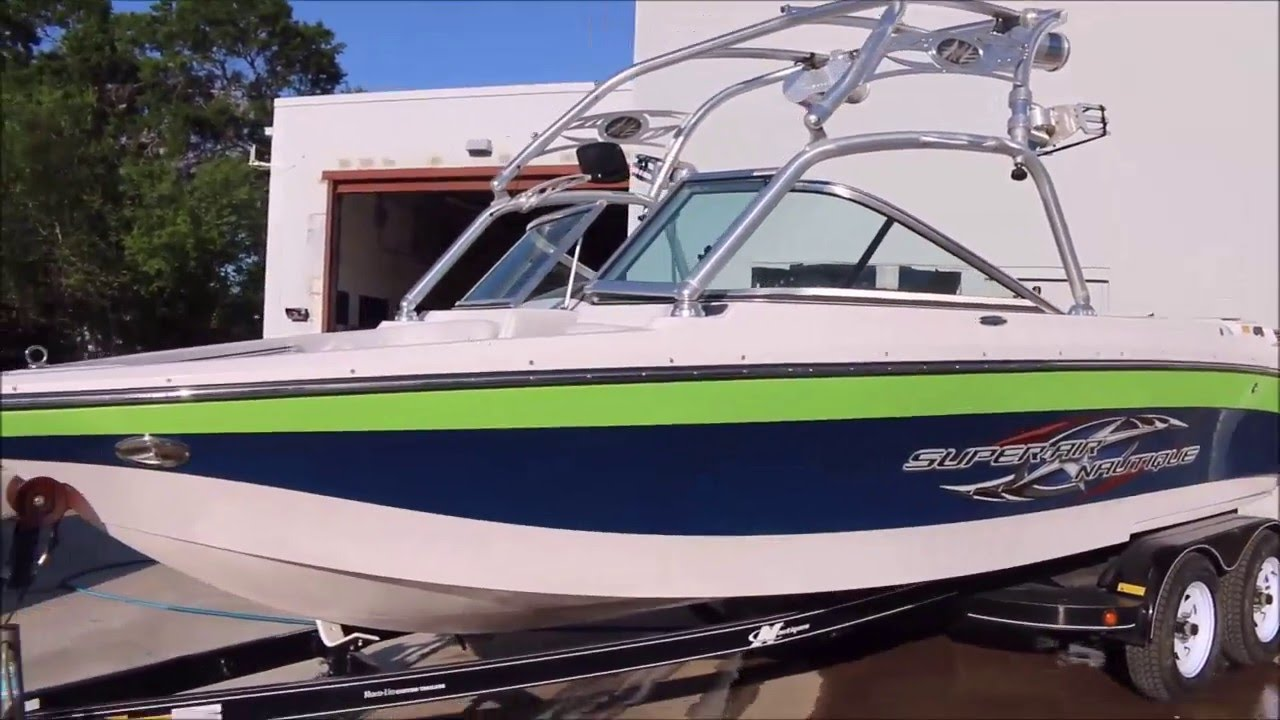 2007 Nautique Super Air 220 Team For Sale