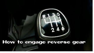 How to engage reverse gear|hyundai santa fe gear| Autokraze