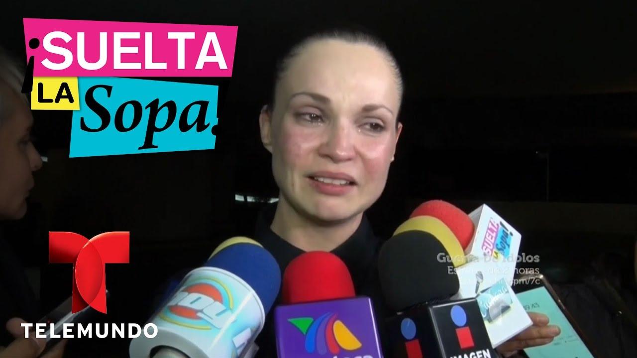 Ana Patricia Rojo ana patricia rojo le dio el último a dios a su padre gustavo rojo | suelta  la sopa | entretenimiento