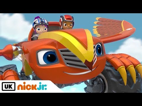 Blaze and the Monster Machines | Falcon Quest | Nick Jr. UK