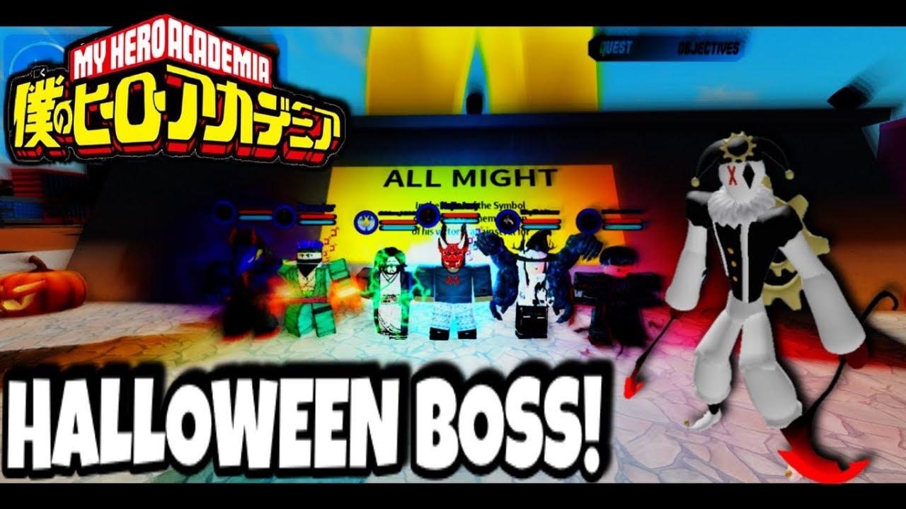 Boku No Roblox Halloween Event 2019 Robux Boku No Roblox Halloween Boss Event Youtube