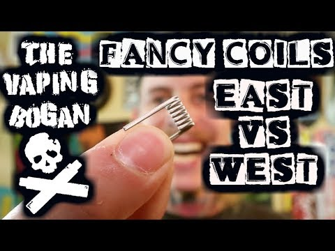 Fancy Coils | China vs The West + How I Clean Them | The Vaping Bogan