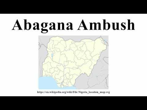 Abagana Ambush