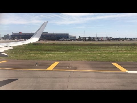 Flying - Landing Into Salgado Filho International Airport (Porto Alegre, Brazil) on LATAM