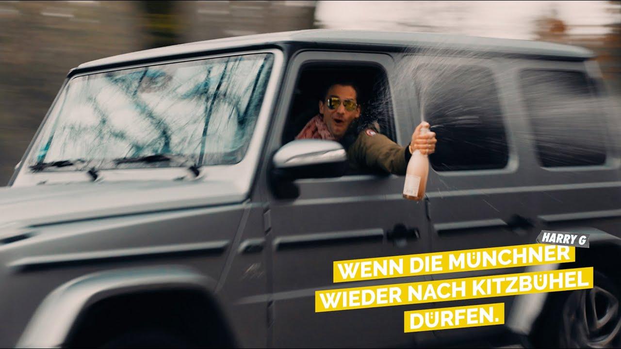 Wenn die Münchner wieder nach Kitzbühel dürfen.