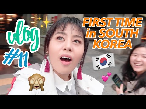Vlog #11: MY FIRST TIME ABROAD!! (Day 1 in Seoul, South Korea) | Eunice Santiago