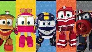 Мультфильм для детей про паровозики – Роботы поезда 🚄   все серии подряд   сборник 26 32