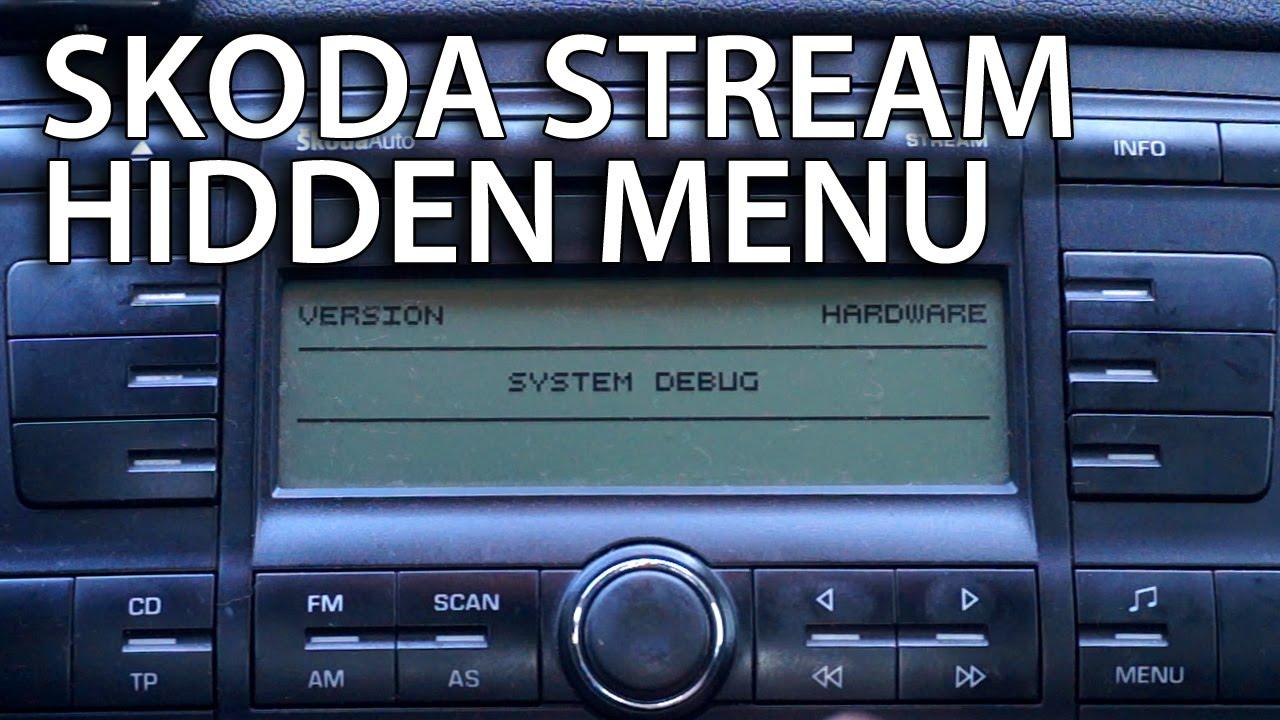 hight resolution of skoda stream mp3 wiring diagram schema wiring diagram how to enter skoda octavia ii stream radio