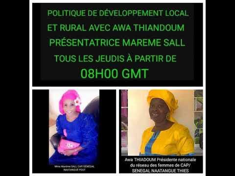 "Sunuker Fm - CAP Senegal Natangue dans ""Developpement local et Rural"" - Awa Thiandoum et Mareme Sall"