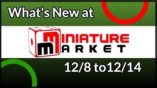 Rob's Picks for What's New at Miniature Market 12/8 to12/14