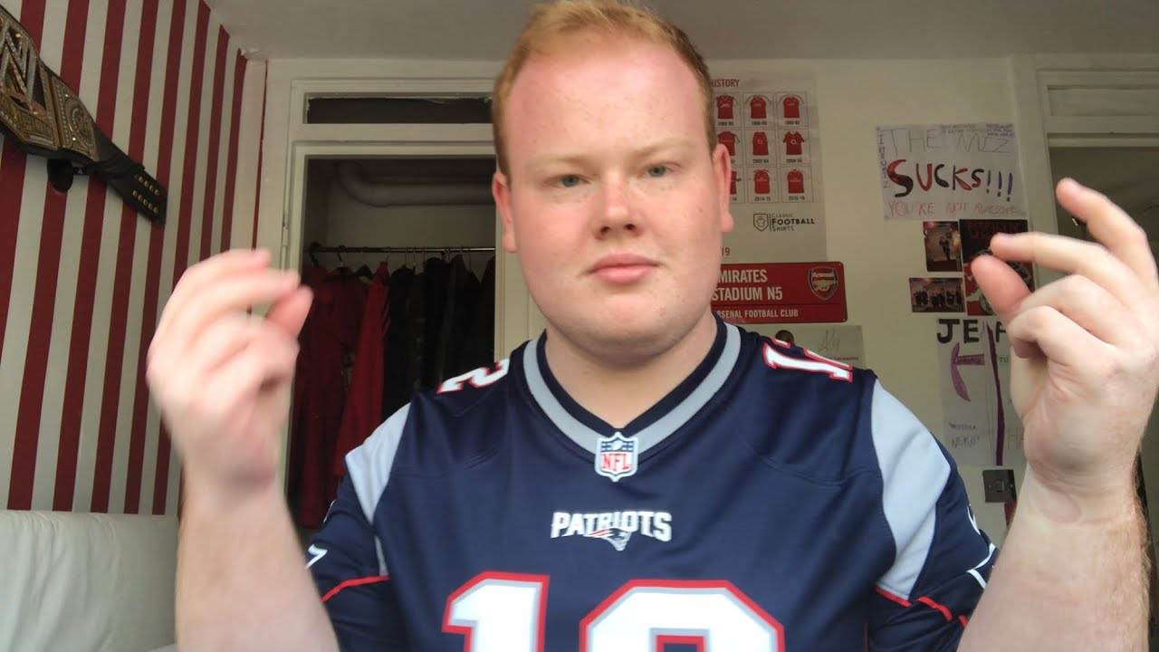 New England Patriots Jersey Unboxing Review - YouTube