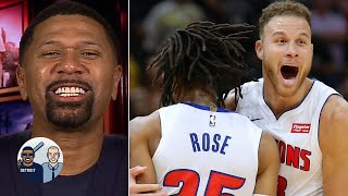 Jalen Rose reacts to Derrick Rose's game winner | Jalen & Jacoby