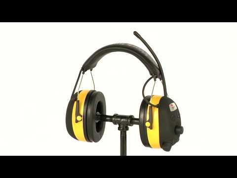 3M Tekk Protection Work Tunes AM/FM Radio and Hearing Protector, Model# 90541-80025V