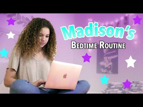 Madison's Bedtime Routine