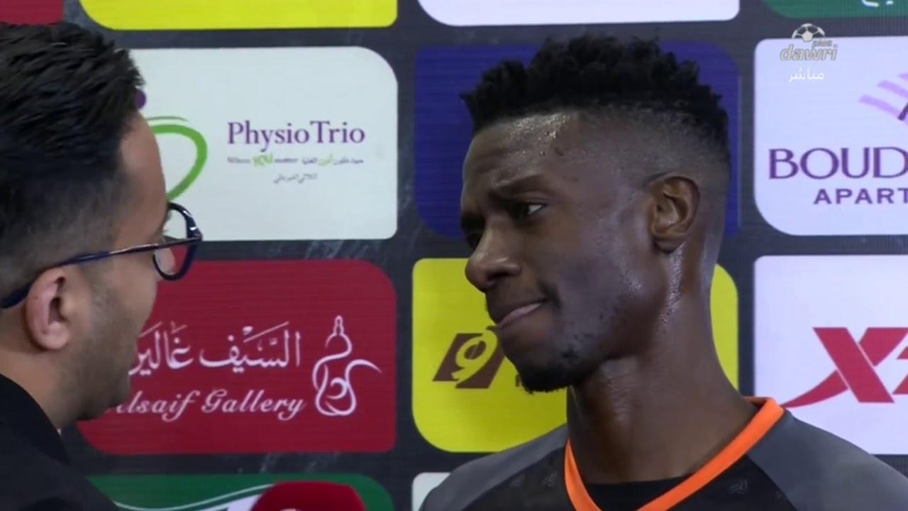 لاعب الشباب حسن معاذ: أضعنا فرص محققة وخسرنا بسبب خطأ